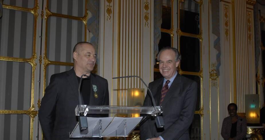 Frédéric Mitterrand et Jean-Pierre Jeunet