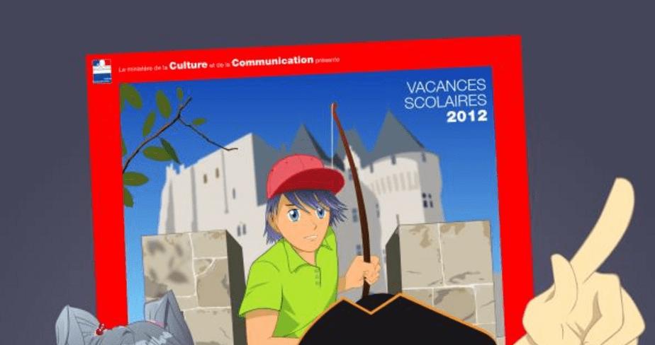 Affiche Les Portes du temps 2012