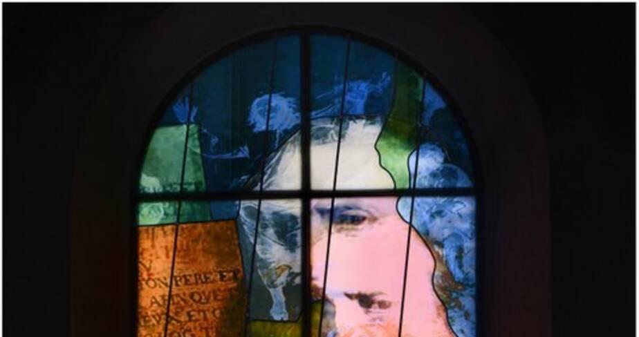 La transfiguration et la voix du Père (baie 107)