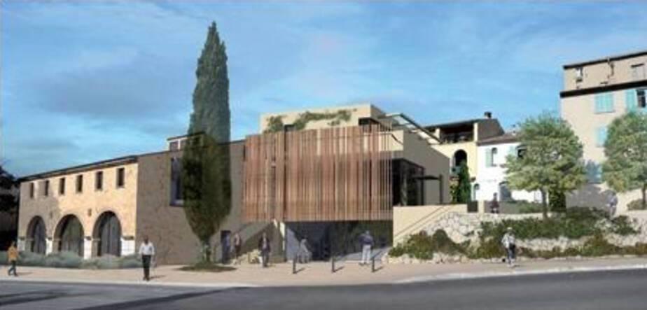 Réhabilitation du bâtiment la Poterie du Vieux Biot