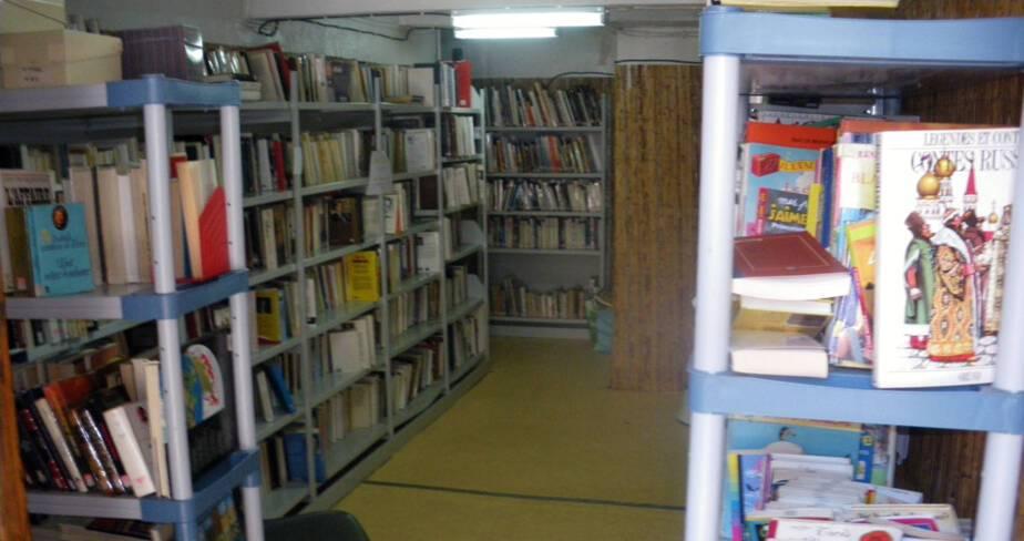 L'actuelle bibliothèque