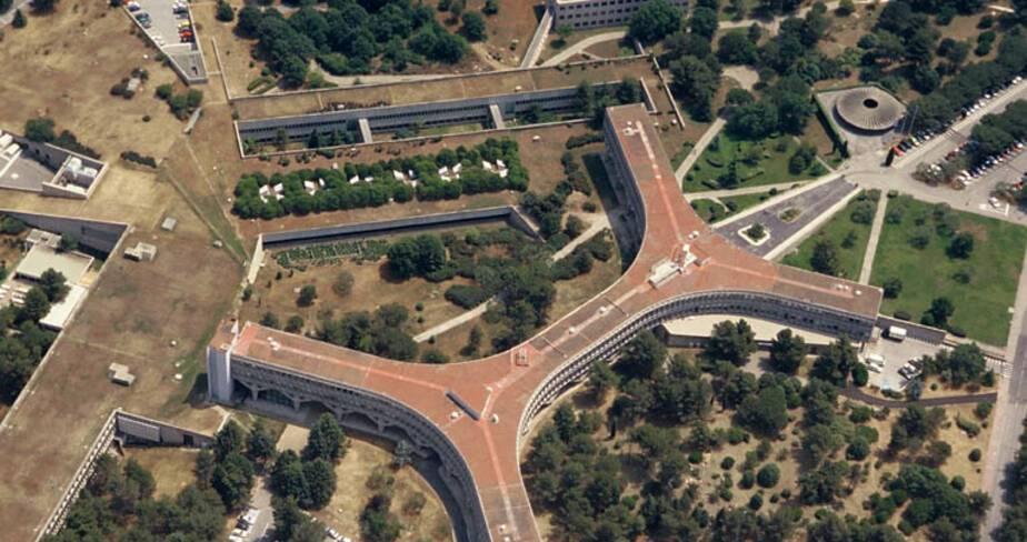 CER IBM - La Gaude, vue aérienne