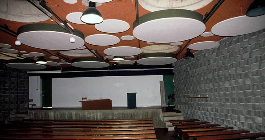 Lycée agricole François Pétrarque - Avignon, l'amphithéatre
