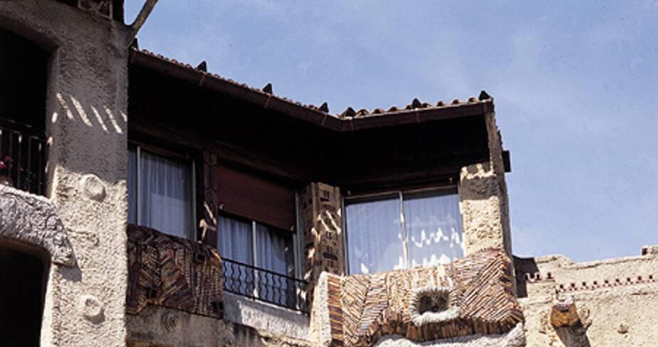 Résidence San Miguel - Avignon, détail façade sur cour intérieure
