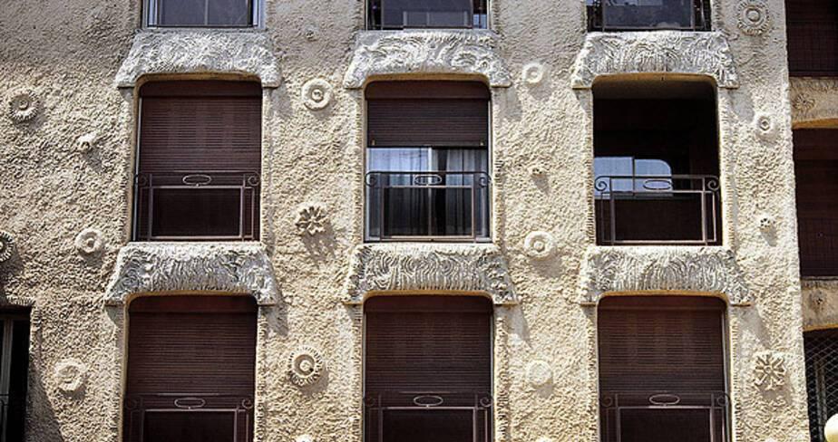 Résidence San Miguel - Avignon, détail sur cour intérieure