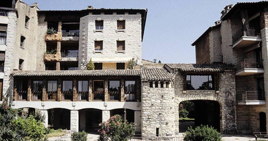 Résidence San Miguel - Avignon, façade sur rempart