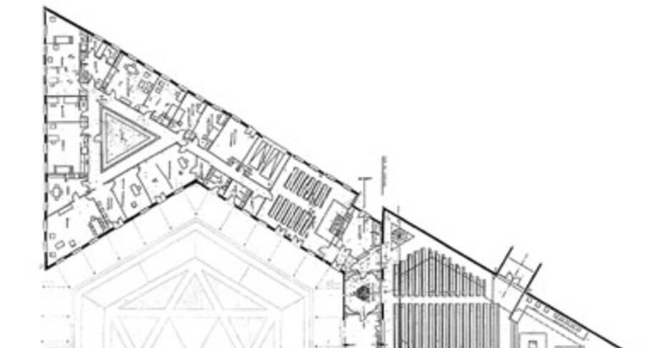 Saint-Joseph Travailleur - Avignon, plan d'ensemble