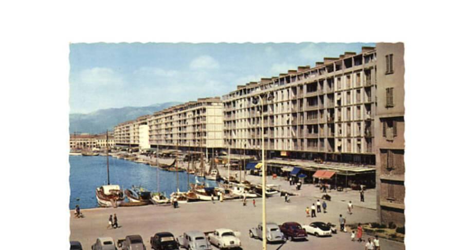 Le nouveau front de mer, vers 1960