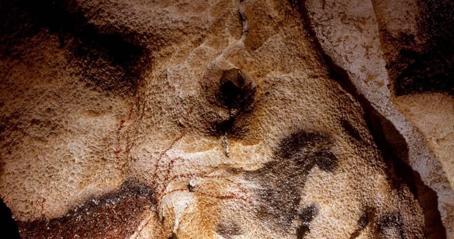 Le Cheval renversé au fond du Diverticule axial
