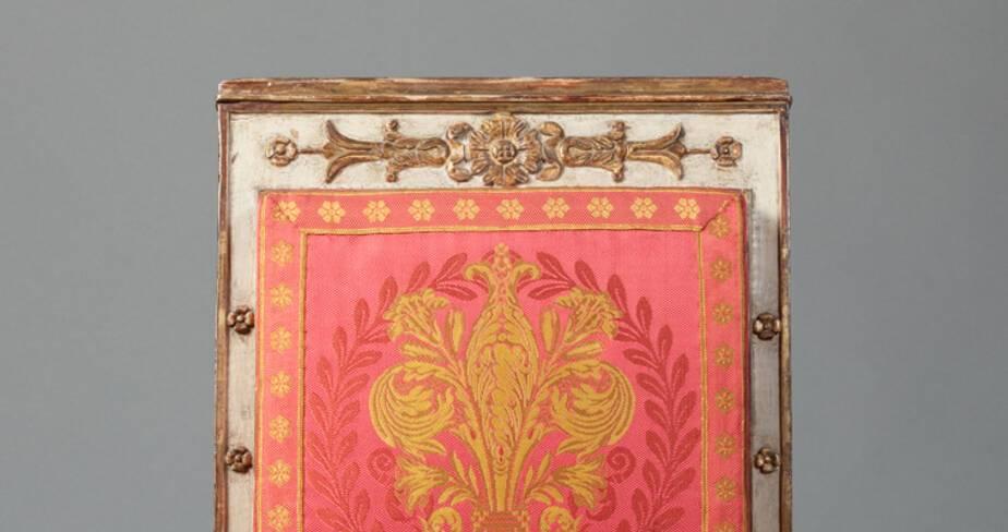 Chaise 1er Empire cardinal Fesch  - Trésor de la cathédrale Saint-Jean à Lyon