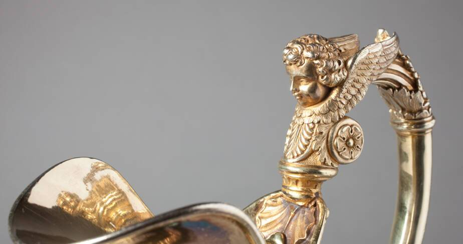 Détail aiguière - André Favier 19° siècle  - Trésor de la cathédrale Saint-Jean à Lyon