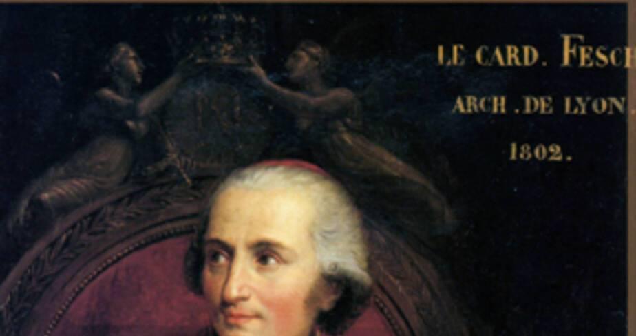 Portrait du Cardinal Fesch par André Appiani (1807)  - Trésor de la cathédrale Saint-Jean à Lyon
