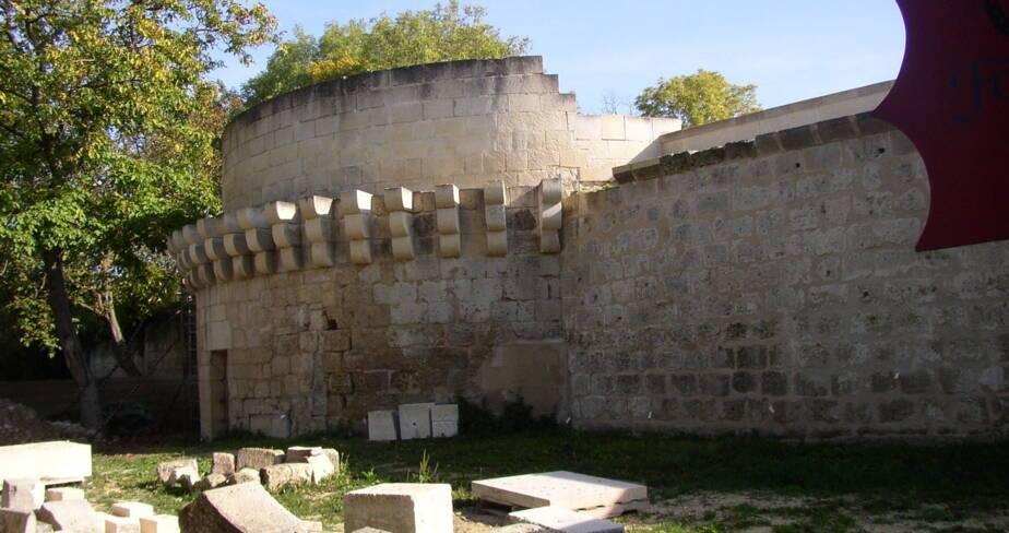 Aisne, Coucy-le-Château-Auffrique, la Tour du Parc L'Hermitte