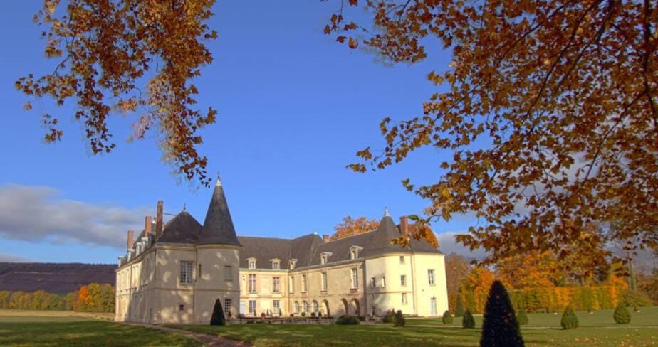Aisne, Condé-en-Brie, le château
