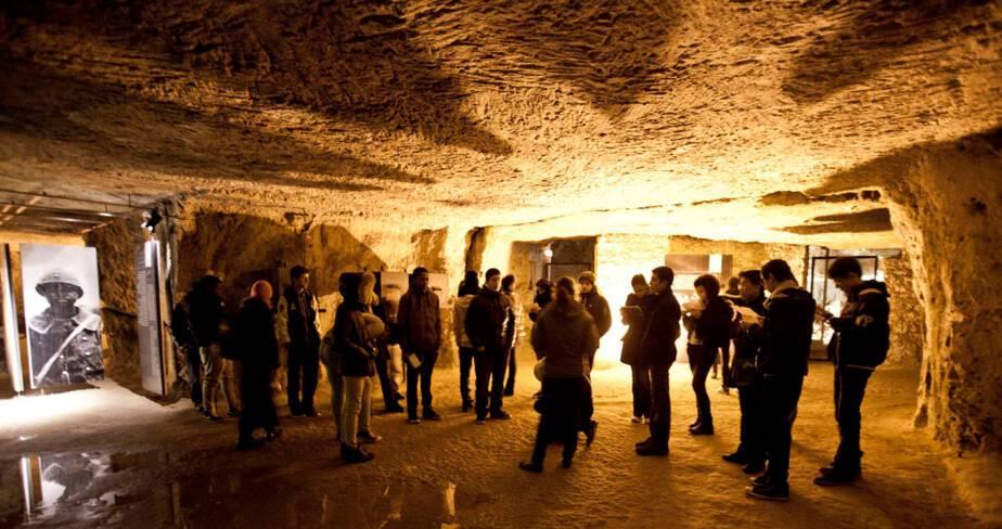 La Caverne du dragon à Oulches-La-Vallée-Foulon (Aisne)