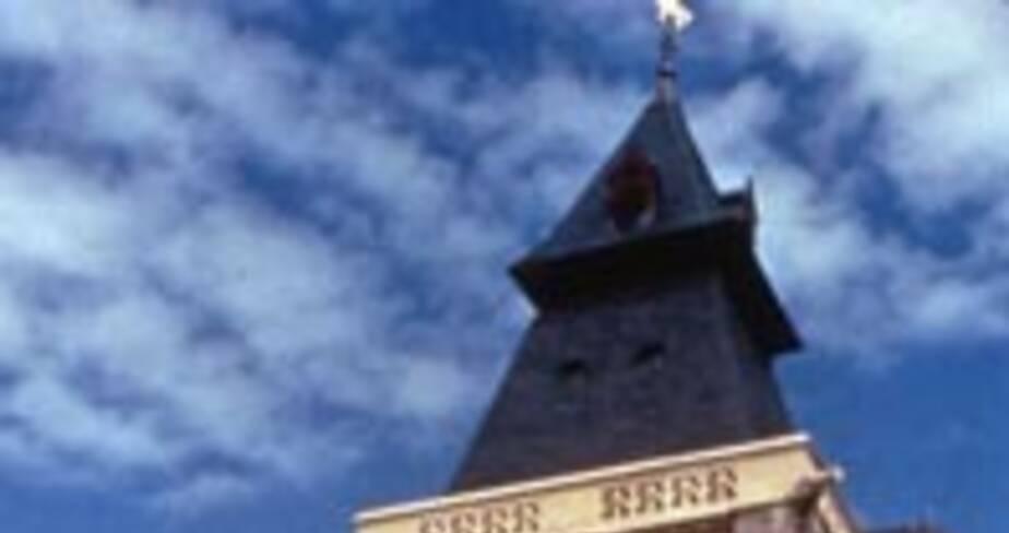 Musée Boucher de Perthes et beffroi à Abbeville (Somme)