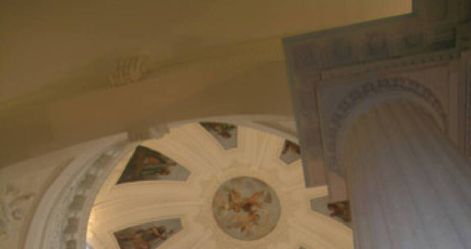 coupole de la chapelle des Visitandines