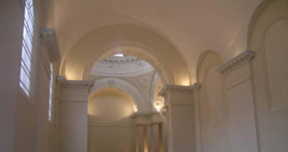 vue de la nef, chapelle des Visitandines