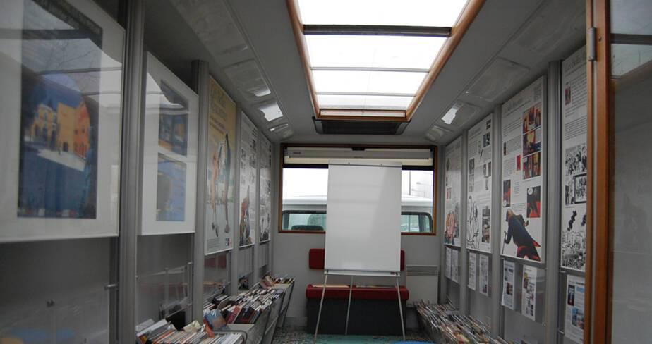 L'aménagement intérieur du bus