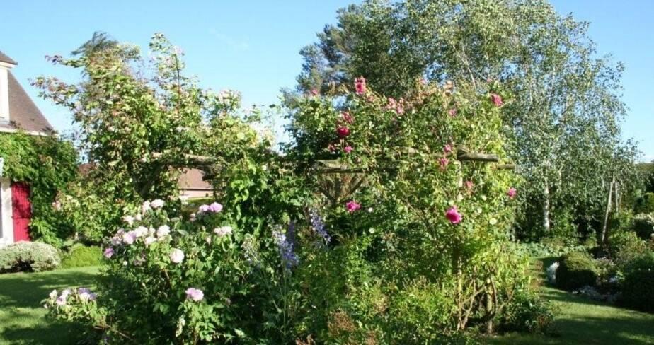 Le jardin de la Sente, Auteuil, Oise