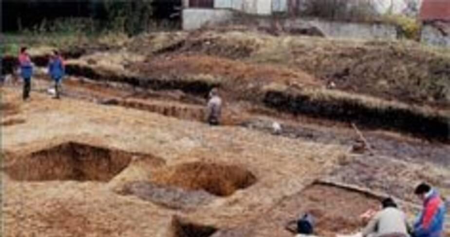 15- Vermand, ferme gauloise et quartier romain dans l'oppidum (Aisne), 2000