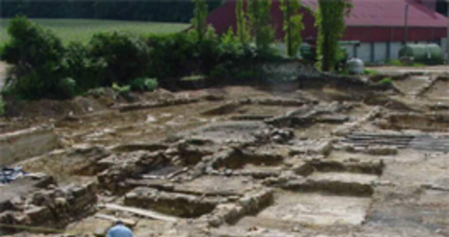 36- La Ligne à Grande Vitesse Est Européenne, les fouilles  archéologiques dans l'Aisne