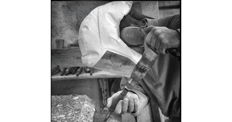 Des artisans à la cathédrale