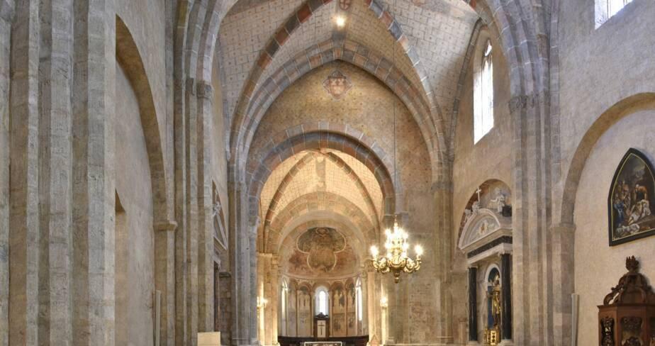 Anc. cathédrale Saint-Lizier, Saint-Lizier (09)
