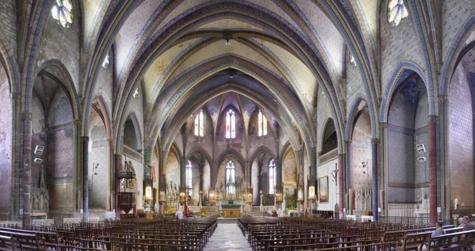 Anc. cathédrale Saint-Maurice, Mirepoix (09)