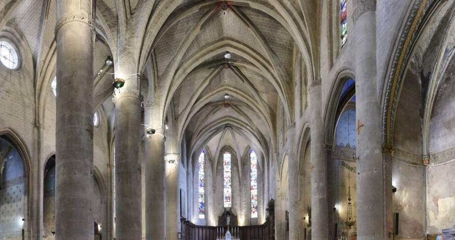 Anc. cathédrale Sainte-Marie, Lombez (32)