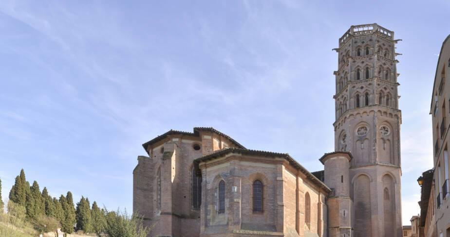 Anc. cathédrale Sainte-Marie. Rieux-Volvestre (31)