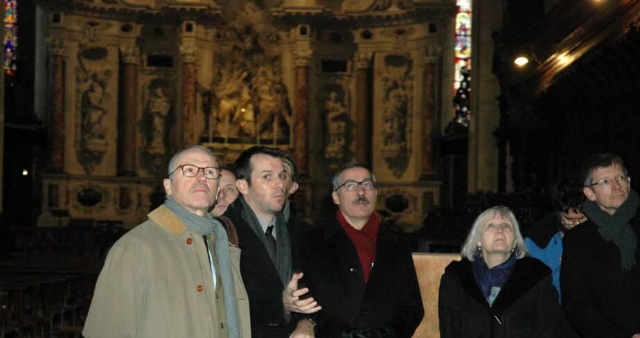 Visite de la cathédrale Saint-Étienne de Toulouse