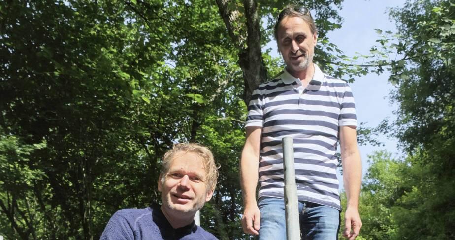 Abraham Poincheval et Éric Binnert