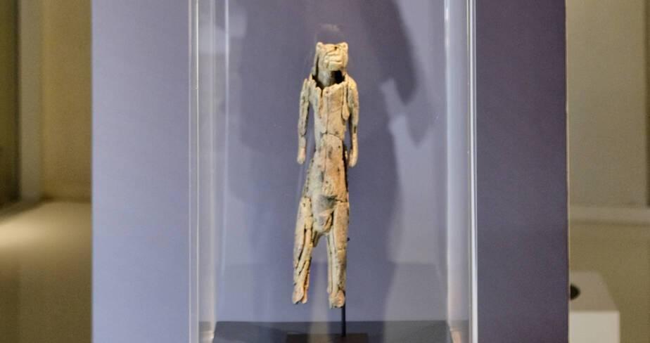 Fac-similé de la statuette l'homme-lion
