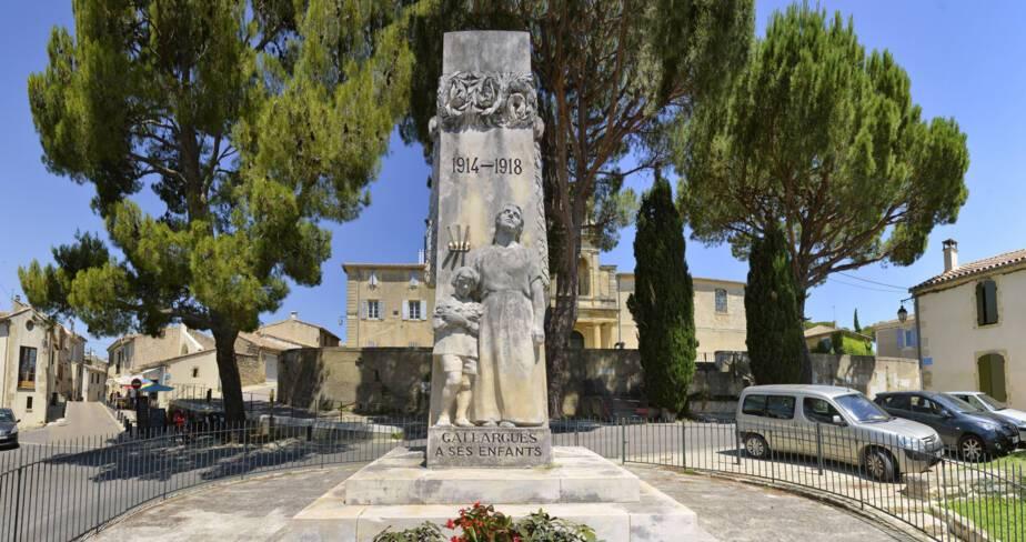 Monument aux morts de Gallargues (30)