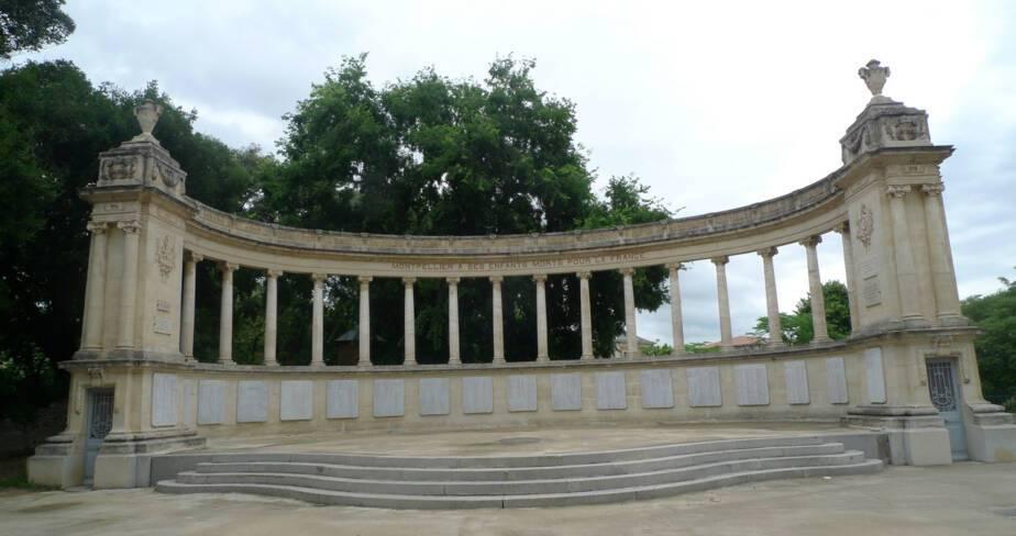 Monument aux morts de Montpellier (34)
