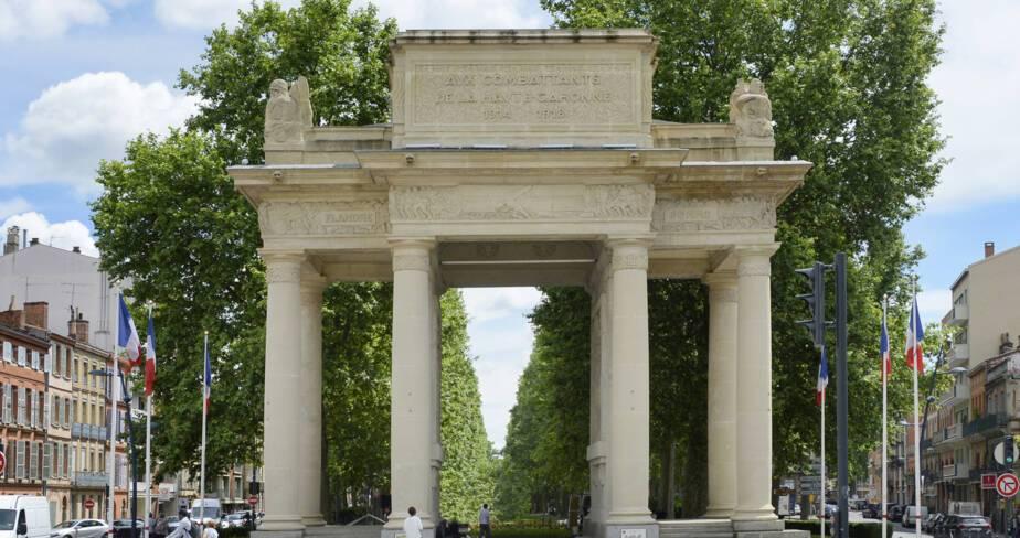 Toulouse (31). Monument départemental