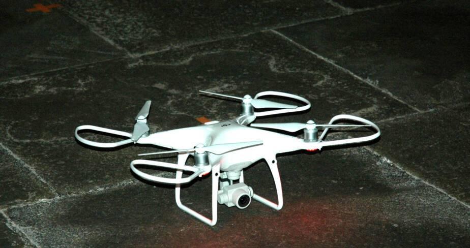 Envol du drone