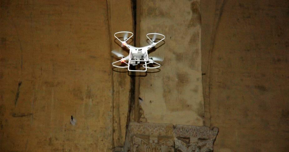 Positionnement du drone pour une prise de vue