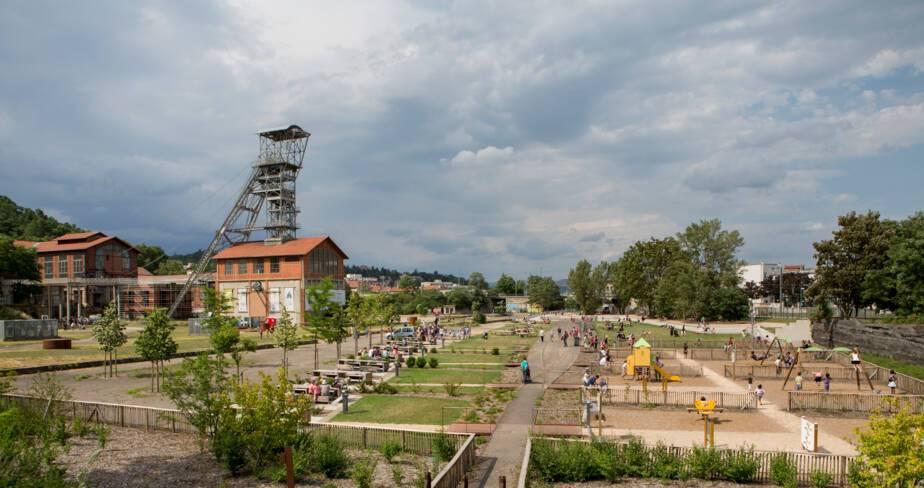 Parc-musée de la Mine Saint-Etienne -Fête Couriot Juillet 2014