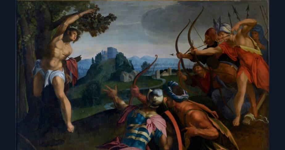Le Martyre de saint Sébastien, Vers 1605-1610