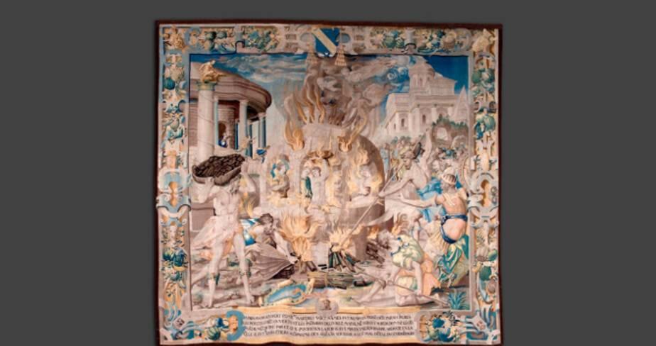 Mammès dans la fournaise, 1544-1545, Cathédrale Saint-Mammès - Langres