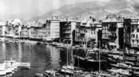 Le port avant les destructions
