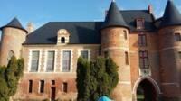 Vue de la façade du château