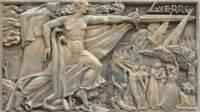 Monument aux morts de Decazeville (12). Détail