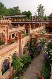 Les jardins secrets à Vaulx