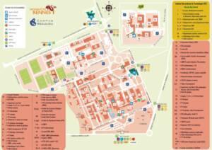 Plan d'accès au centre de documentation de l'archéologie