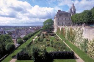 Roseraie des terrasses de l'Evêché