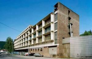 Saint-Dié. Manufacture Duval oeuvre architecturale de Le Corbusier - Inscrit sur la liste du patrimoine mondial de l'Unesco