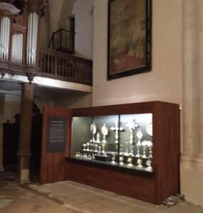 Trésor de l'église de Dienvielle (Aube)